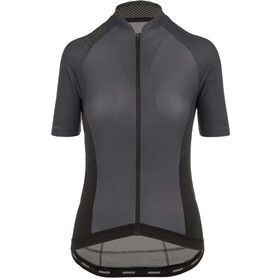 Bioracer Sprinter SS Jersey Cold Black Light Women, grey